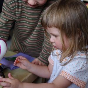 Ester a její Lego.