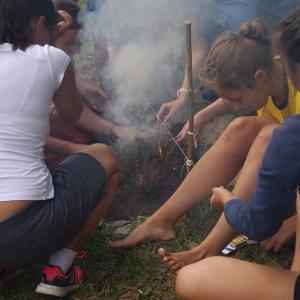 ...a vyvalil se dým, plameny a nakonec přepalují.