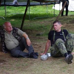 Čučo a Gerhard, staré pasty.