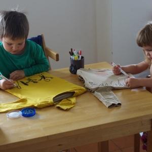 Máme doma dětskou manufakturu.