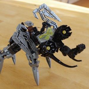 Robotický lego mamut.