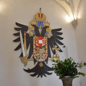 Brandýs nad Labem, zde sídlil poslední Habsburský následník, Karel Itrůnu