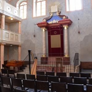 Synagoga Brandýs, interiér.