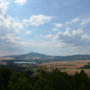 Výhled z Kalvárie nad Úštěkem.
