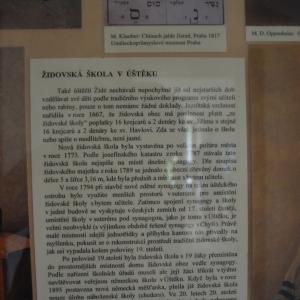 Židovská škola, Úštěk.